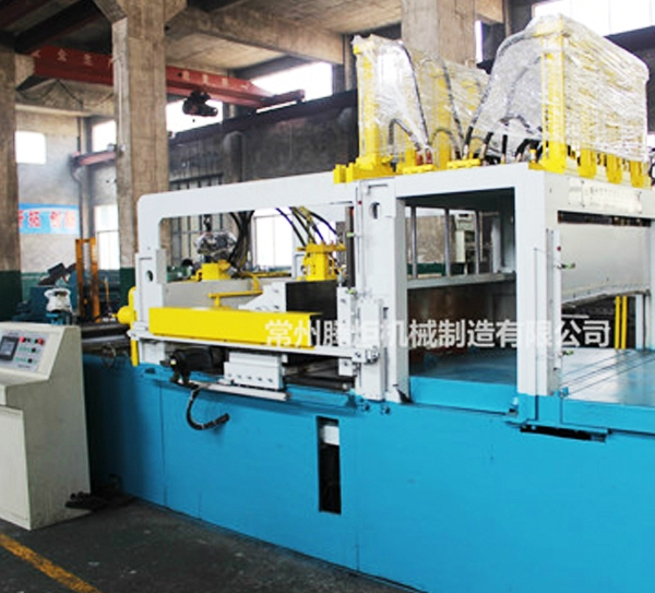 波纹片成型机生产